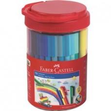 Carioci 50 culori Connector Cutie Faber Castell