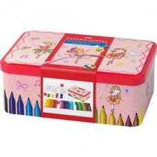 Carioci 33 culori Ballerina Box Connector Faber Castell