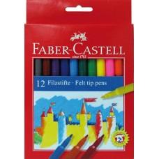 Carioci 12 culori Faber Castell