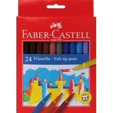 Carioci 24 culori Faber Castell