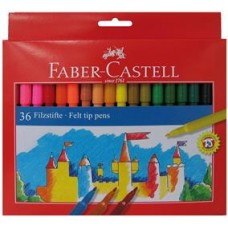 Carioci 36 culori Faber Castell
