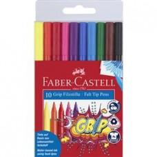 Carioca 10 culori/set Grip Faber Castell