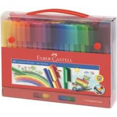 Set Cadou Carioci 60 culori Connector Faber Castell