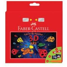 Set Cadou Carioci Connector 3D Art Faber Castell